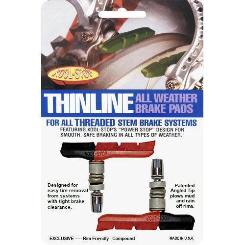 Kool Stop Bremsschuh V-Brake -Thinline- T2 dual compound Paar